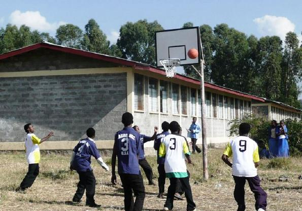 Sports work in Gondar