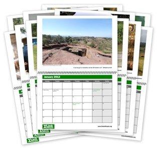 Link Ethiopia's 2012 Calendars