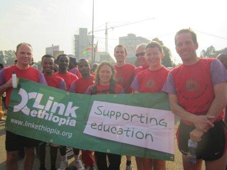 Teachers from Ossett Academy take part in the Great Ethiopian Run