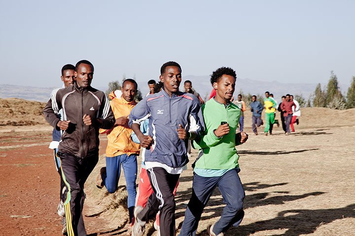 Ethiopian Athletes in the Press