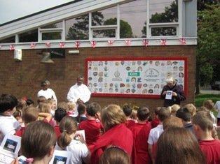 Queniborough CE Primary School receive some Ethiopian guests