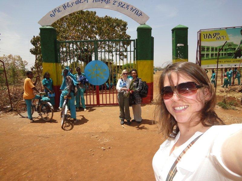 Farmor's School Visit to the Bahir Dar Zuria Academy