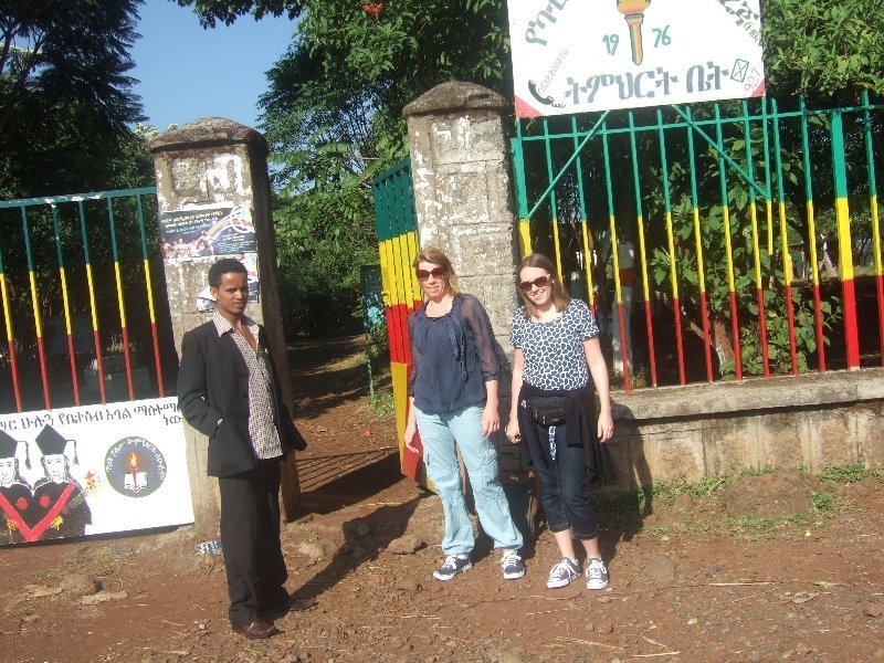Queniborough Teachers Visit Yekatit 23