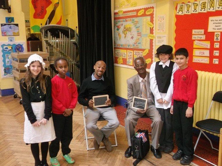Brackenbury Primary School welcomes Ethiopian guests