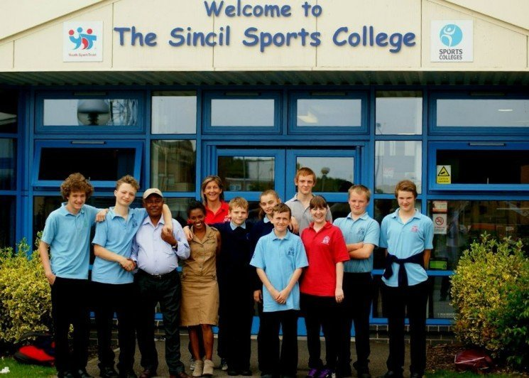 Sincil Sports College welcomed two staff members from their Link School, Times Choice Academy!