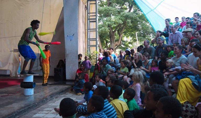 Circus show raises more than $1000 for girl's education!