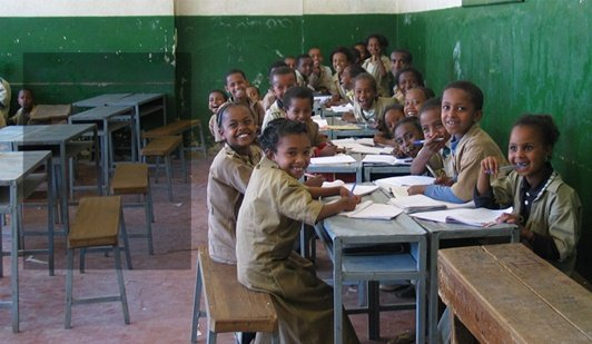 We support education in Ethiopia. Will you help us?