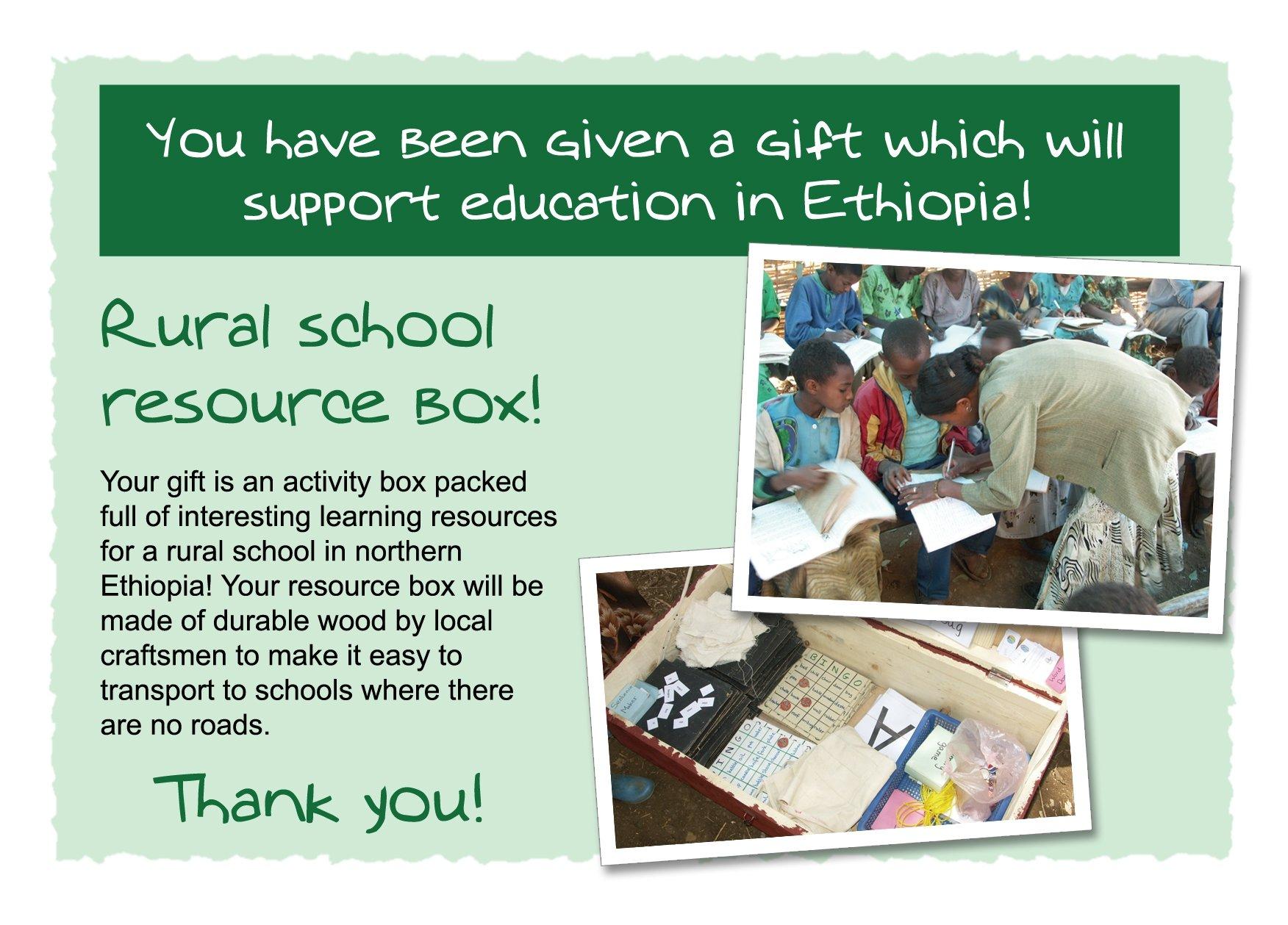 Rural School Resource Box