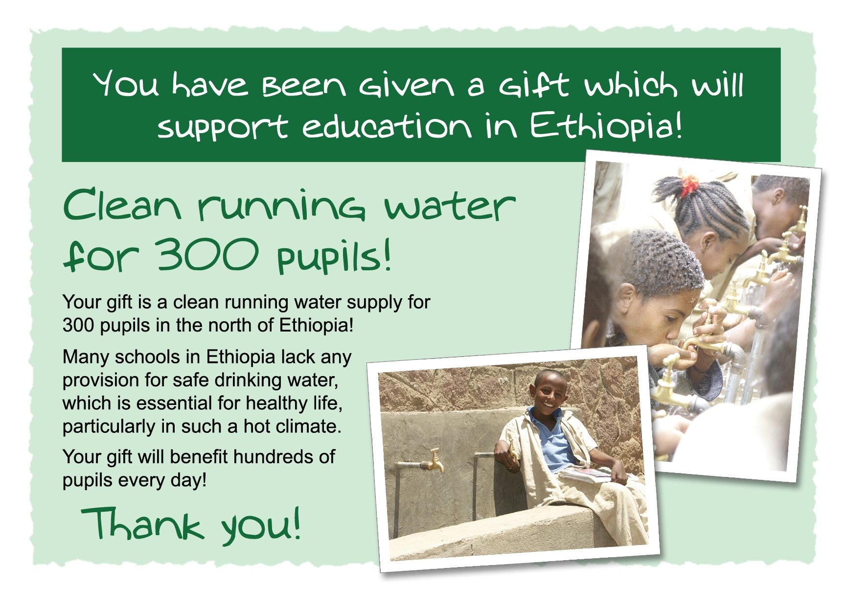 Clean Water (300 Students)