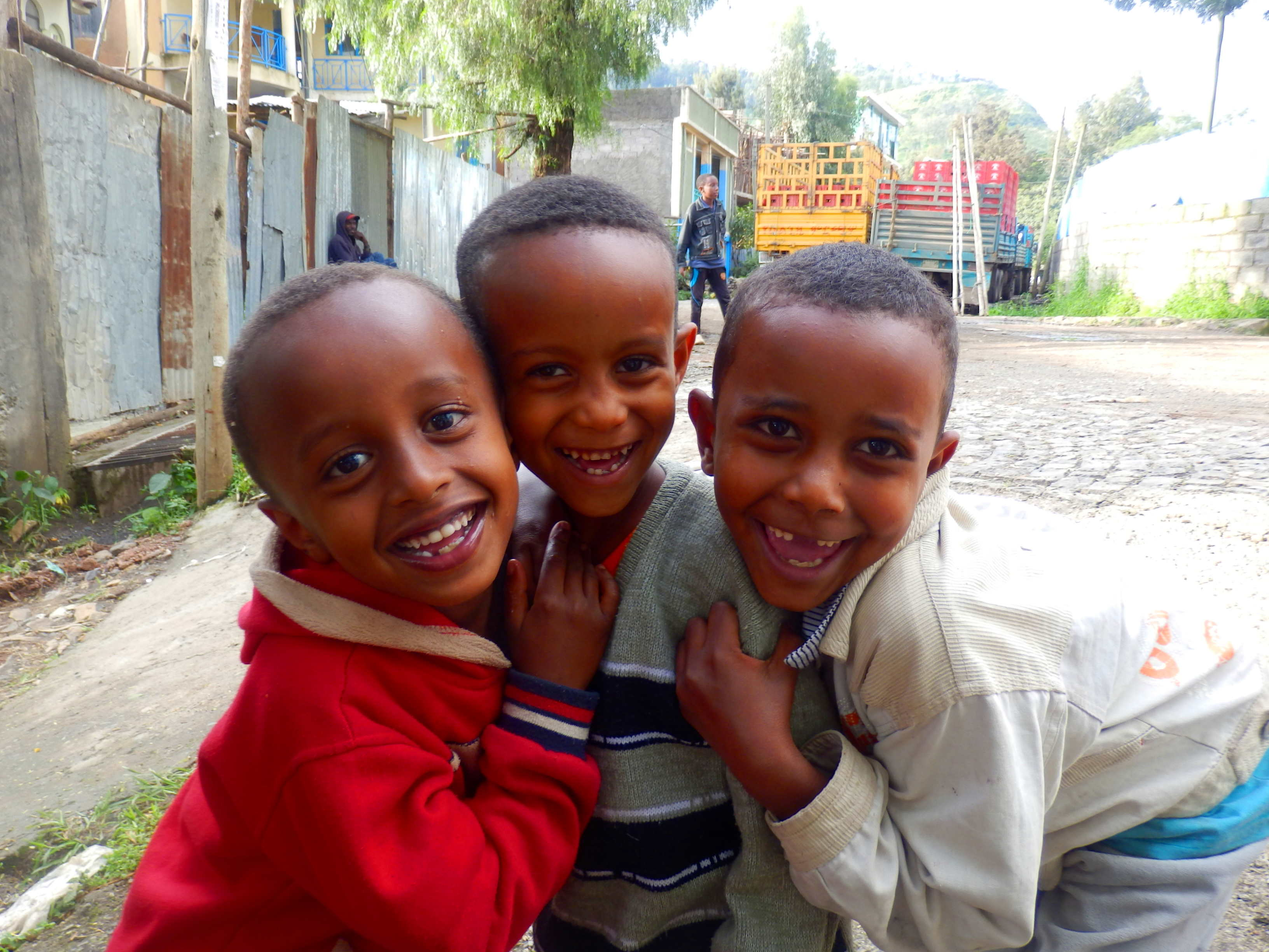 Teaching in an Ethiopian School