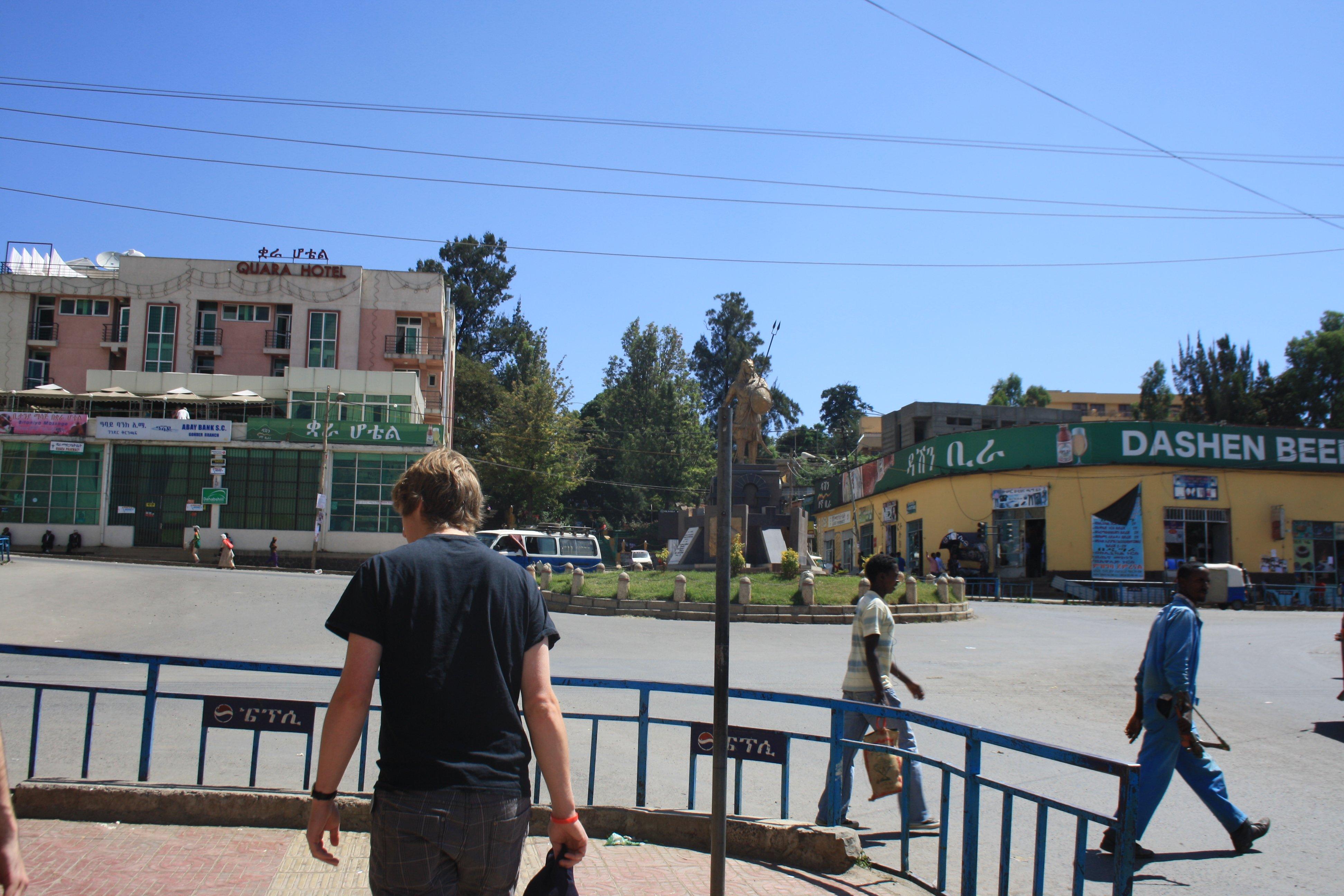 Touching Down in Gondar