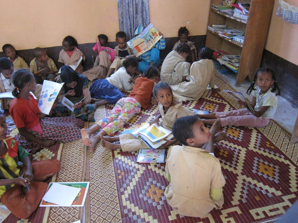Literacy & Library project begins in 46 Ethiopian schools