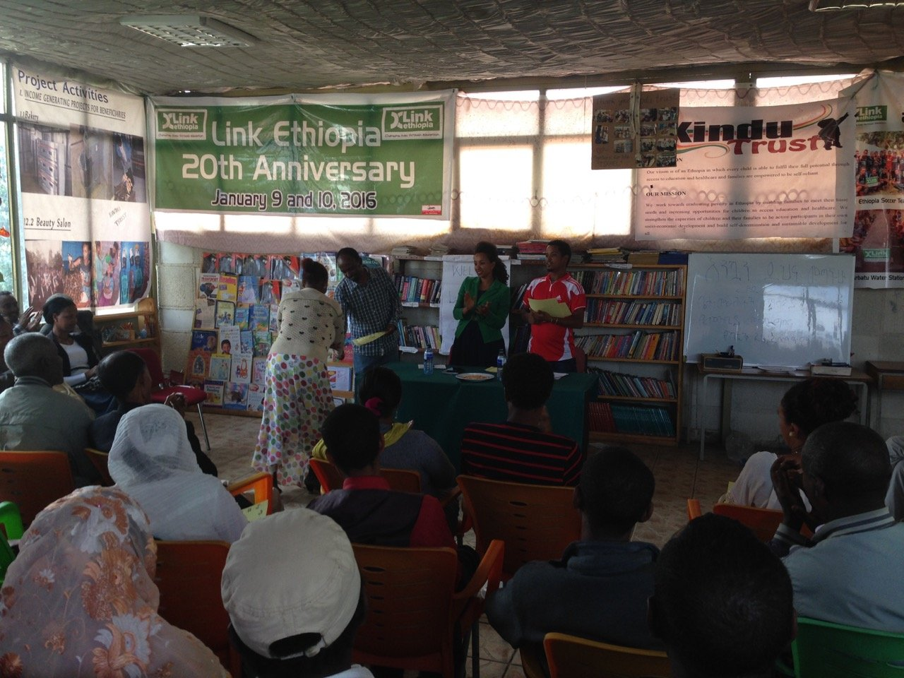 Library Improvement Awards Ceremony in Gondar